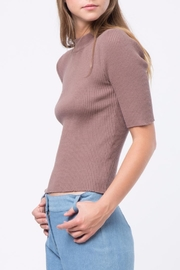 Movint Short Sleeve Sweater - Side cropped