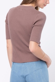 Movint Short Sleeve Sweater - Front full body
