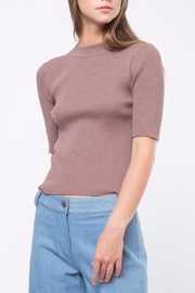 Movint Short Sleeve Sweater - Front cropped