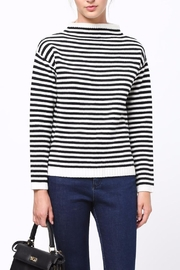 Movint Mock Neck Sweater - Front cropped