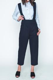 Movint Navy High Waist Overall - Front cropped