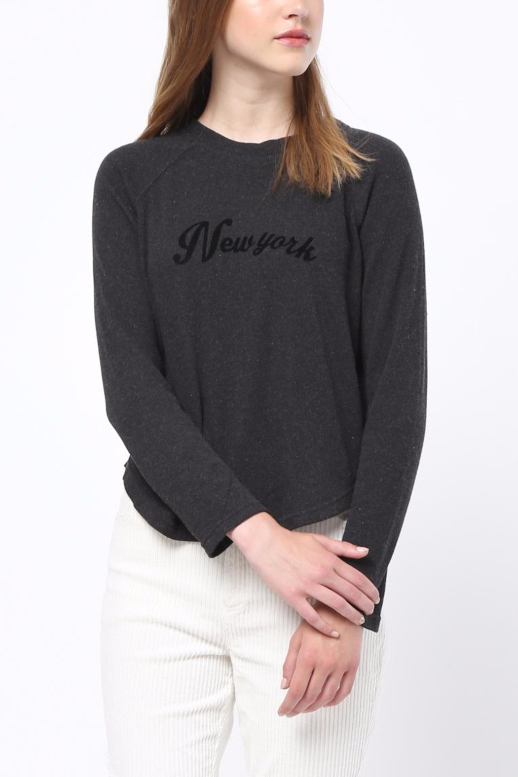 Movint New York Sweatshirt - Back Cropped Image