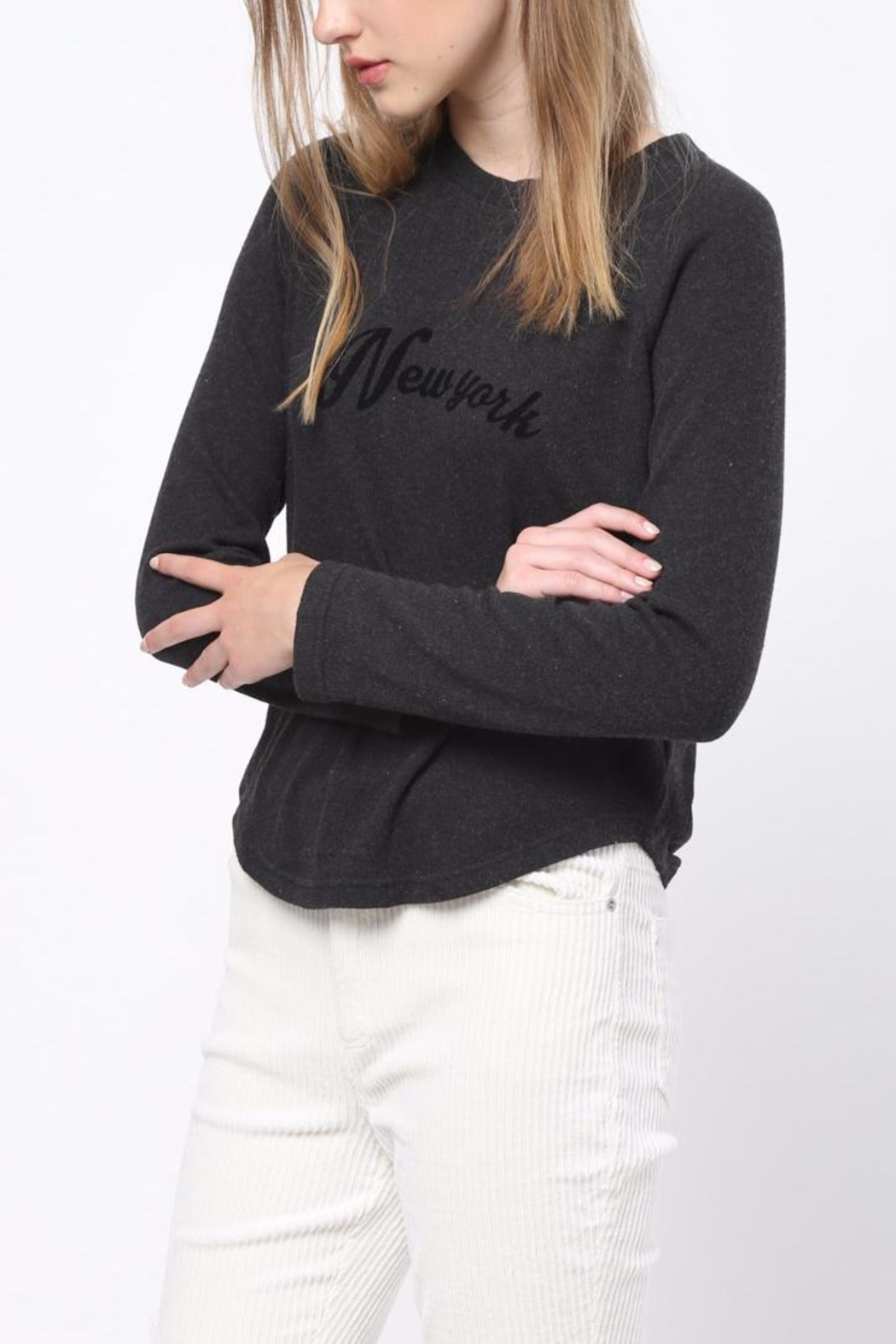 Movint New York Sweatshirt - Side Cropped Image