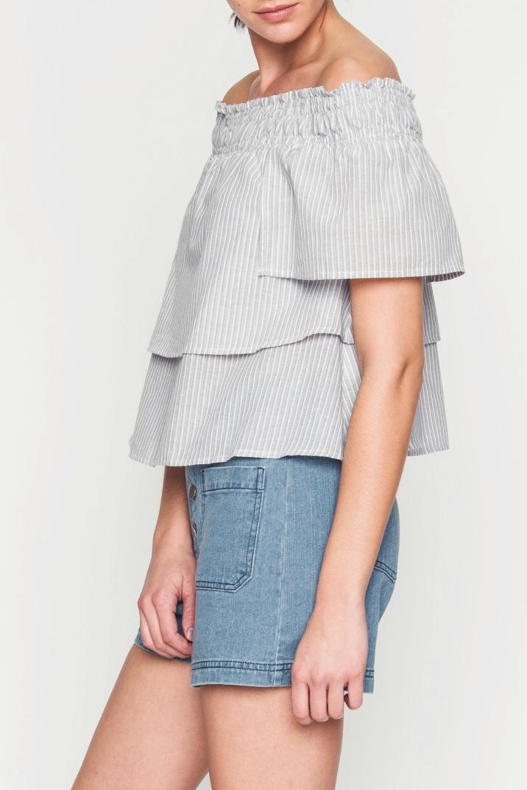 Movint Kanya Tiered Top - Front Full Image