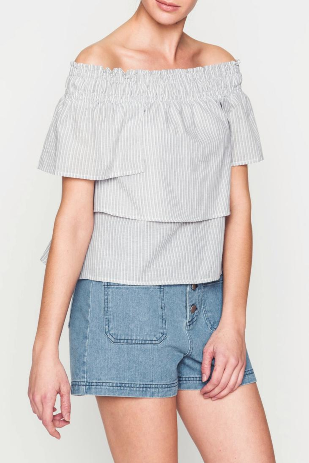 Movint Kanya Tiered Top - Back Cropped Image
