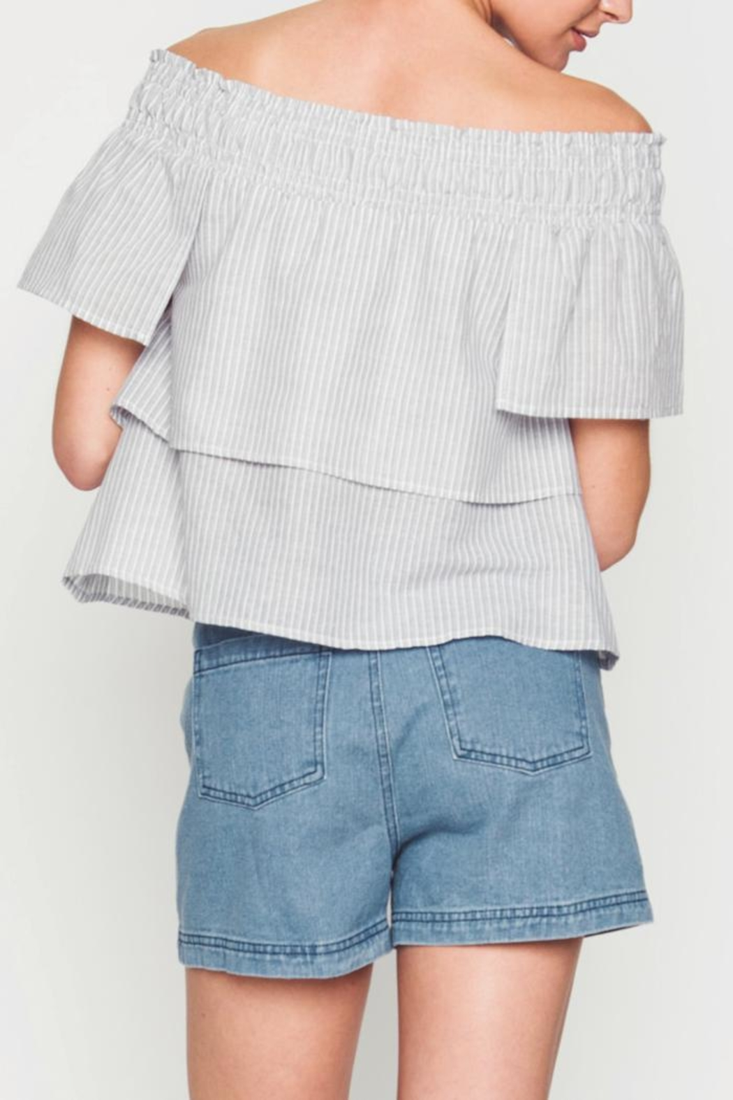 Movint Kanya Tiered Top - Side Cropped Image