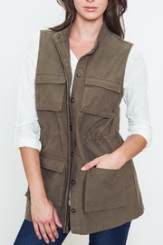 Movint Olive Vest - Product Mini Image