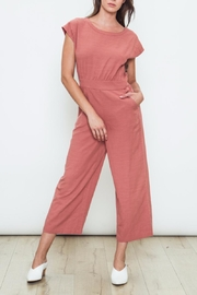 Movint Rosewood Open Back Jumpsuit - Front cropped