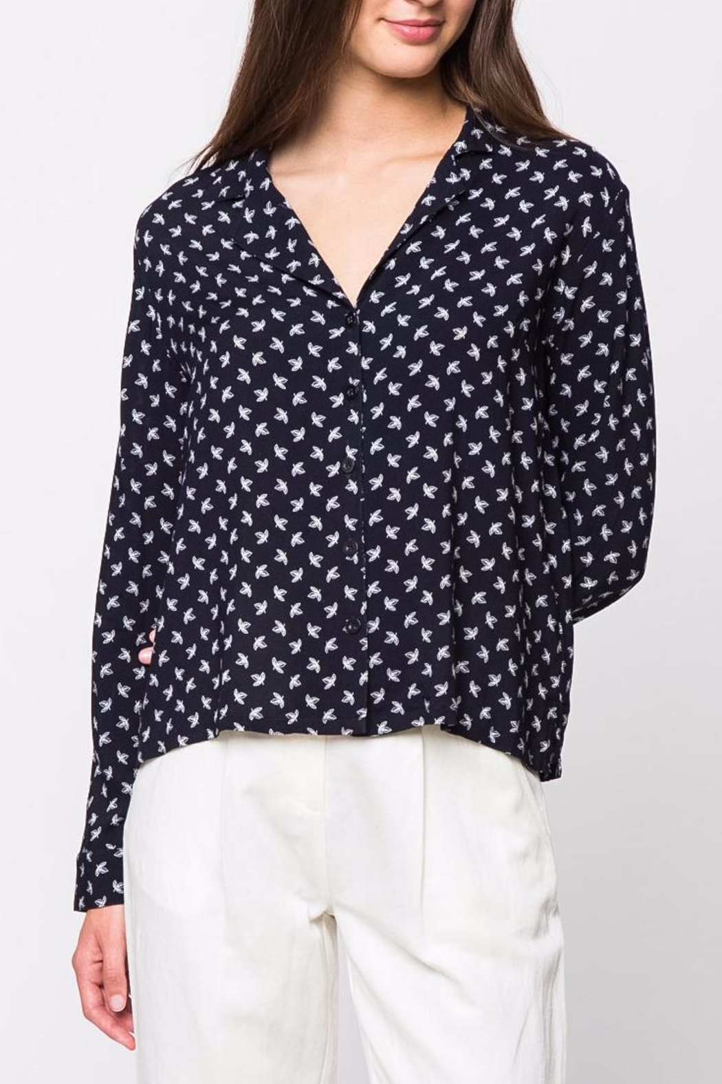 Movint Oversize Button Down Shirt - Main Image