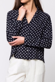 Movint Oversize Button Down Shirt - Back cropped