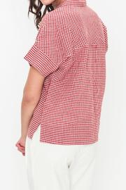 Movint Oversized Button-Down Shirt - Side cropped