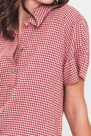 Movint Oversized Button-Down Shirt - Back cropped