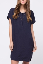 Movint Linen Henley Dress - Product Mini Image