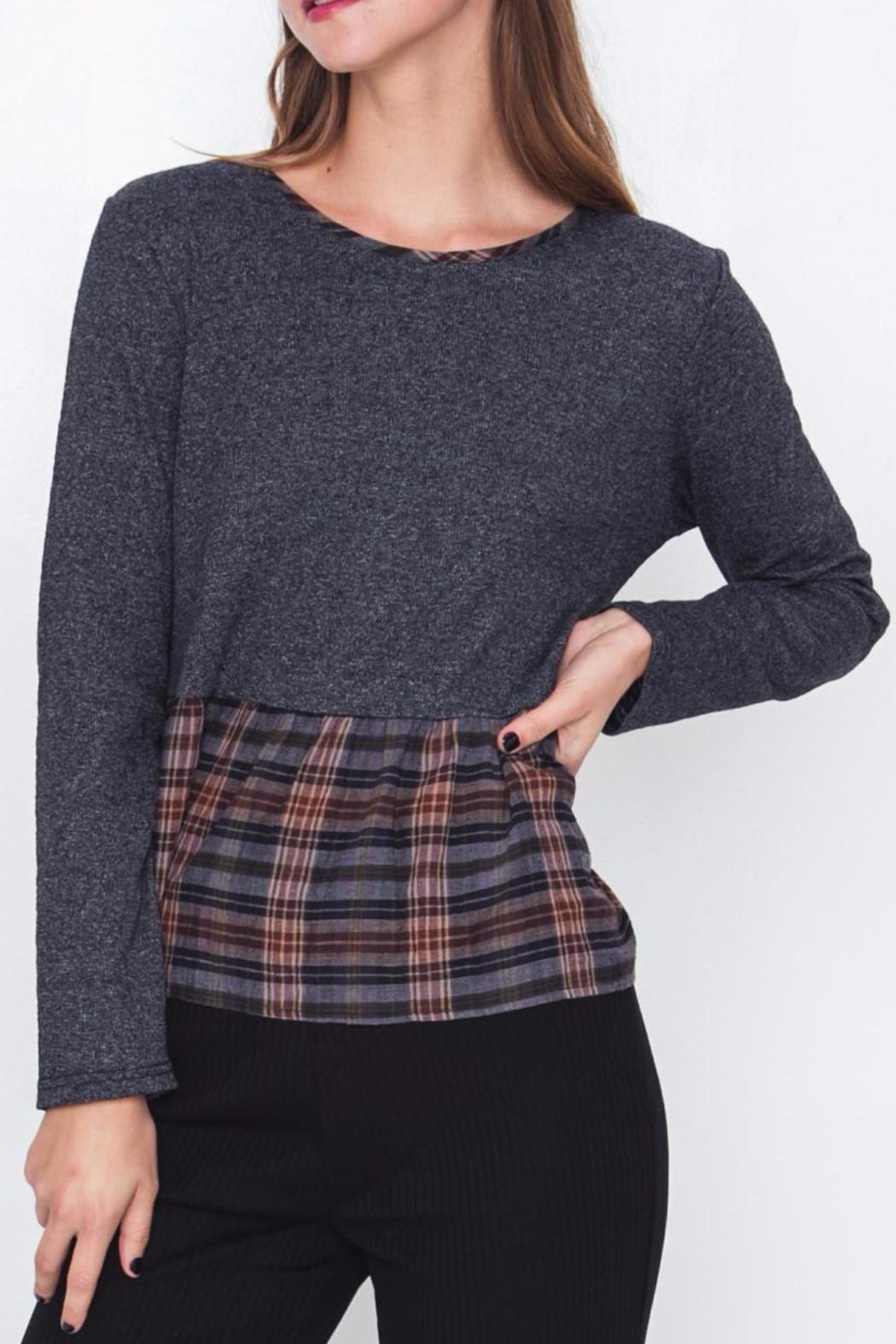 Movint Patchwork Top - Main Image