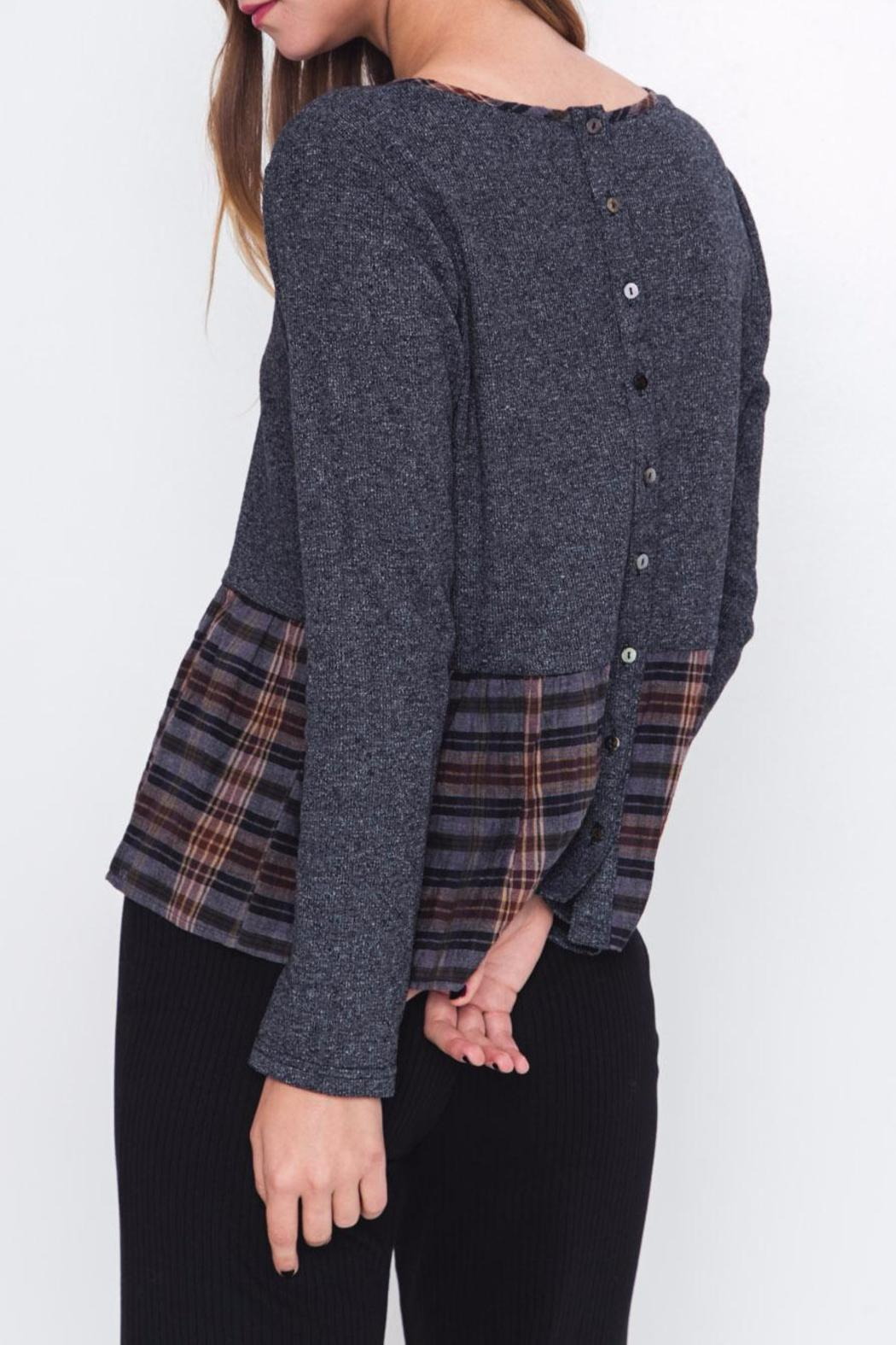 Movint Patchwork Top - Side Cropped Image