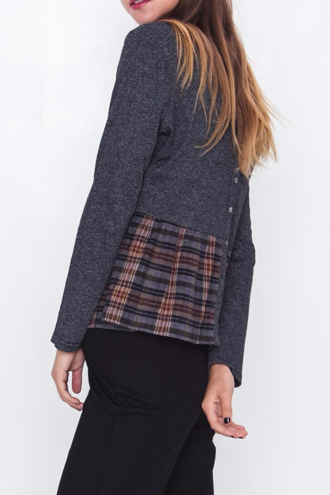 Movint Patchwork Top - Front Full Image