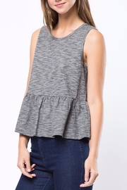 Movint Peplum Sleeveless Top - Product Mini Image