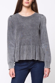 Movint Peplum Sweater - Front cropped