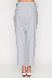 Movint Striped Cropped Pants - Side cropped