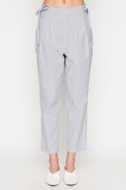 Movint Striped Cropped Pants - Front cropped