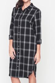 Movint Plaid Shirt Dress - Product Mini Image