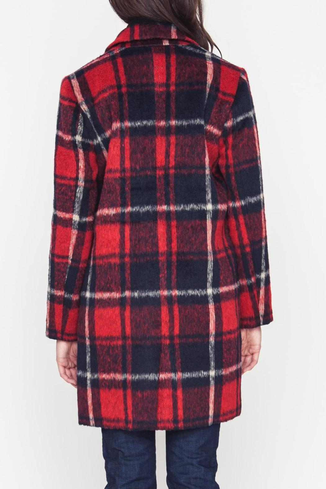 Movint Plaid Coat - Side Cropped Image