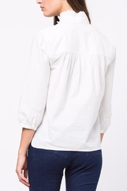 Movint Pleated-Collared-Detailed Top - Front full body