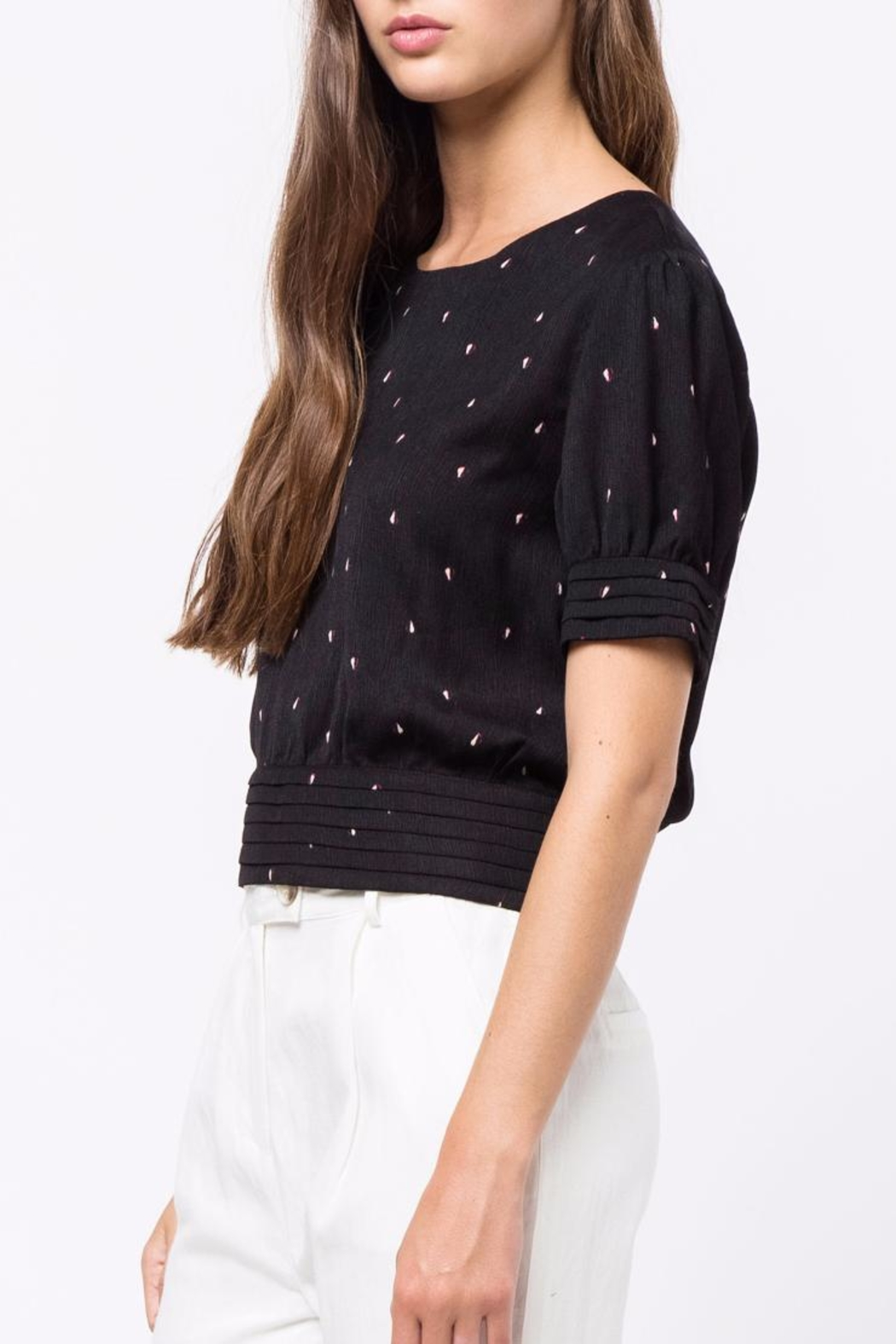 Movint Button Down Top - Side Cropped Image