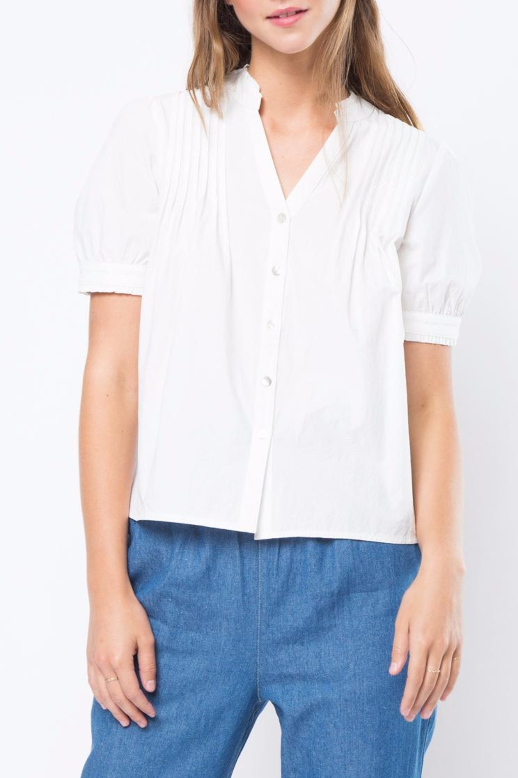 Movint High Neck Blouse - Main Image