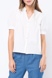 Movint High Neck Blouse - Front cropped