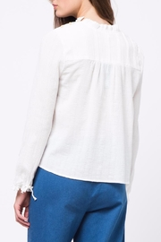 Movint Pleats Detailed Top - Front full body
