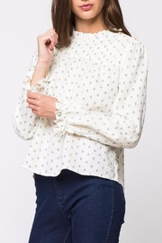 Movint Pleats Long Sleeve Top - Front cropped