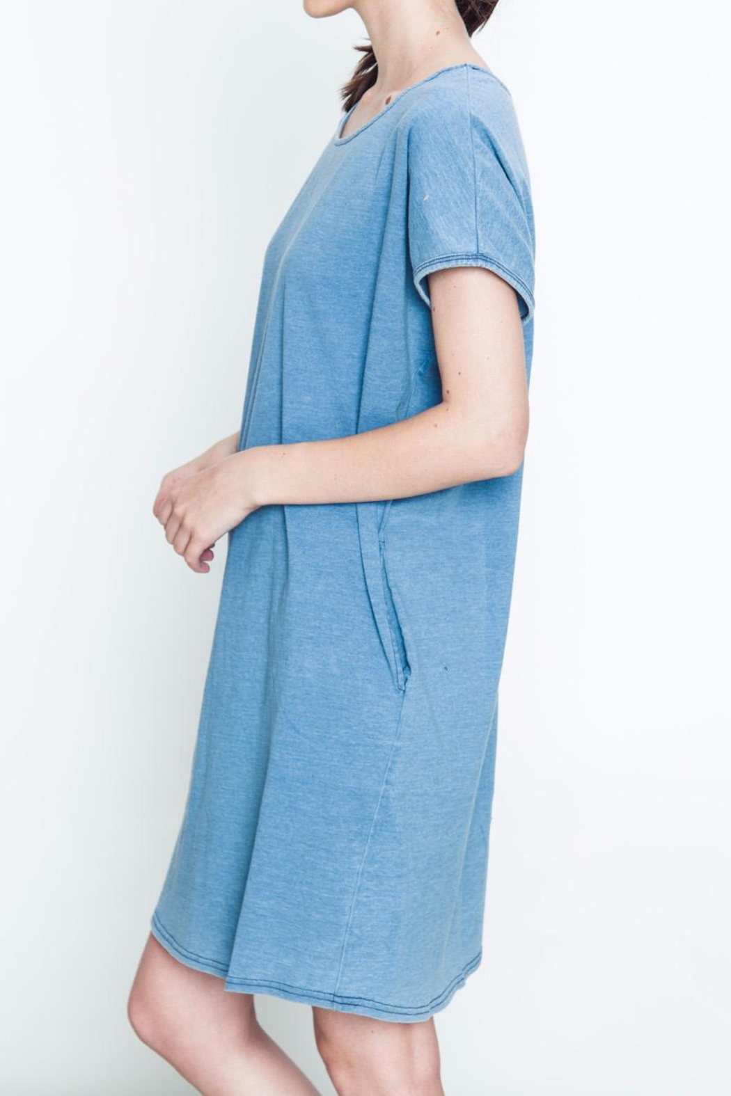 Movint Pocket Knit Dress - Front Full Image