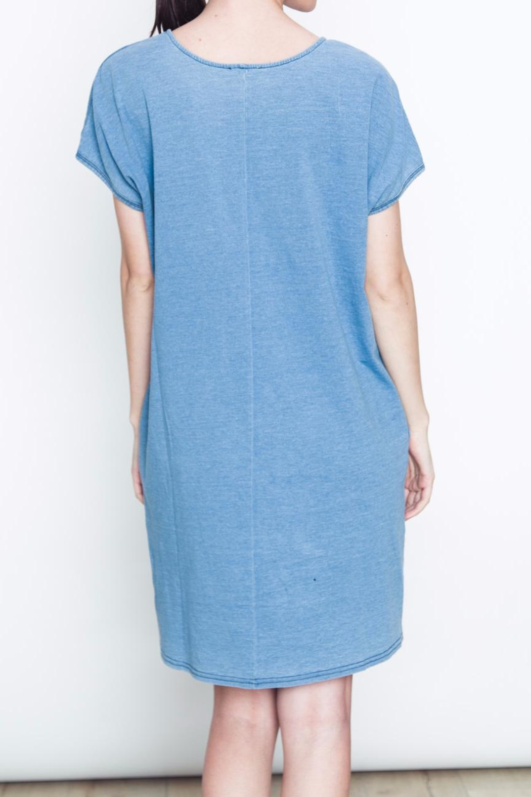 Movint Pocket Knit Dress - Side Cropped Image