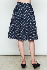 Movint Polka Dot Flared Skirt - Side cropped