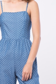 Movint Denim Polka Dot Jumpsuit - Other