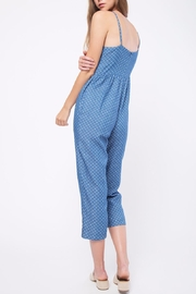 Movint Denim Polka Dot Jumpsuit - Side cropped