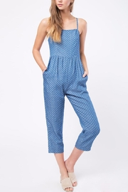 Movint Denim Polka Dot Jumpsuit - Product Mini Image