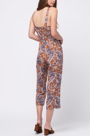 Movint Printed Jumpsuit With Belt - Front full body