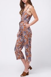 Movint Printed Jumpsuit With Belt - Side cropped