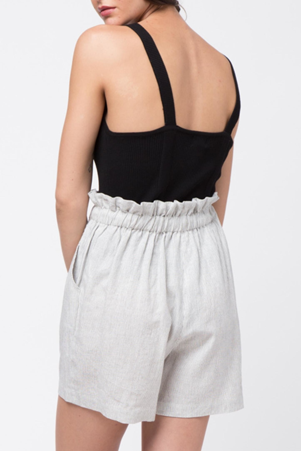 Movint Ribbed Sleeveless Top - Side Cropped Image