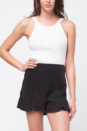 Movint White Knit Tank - Front cropped