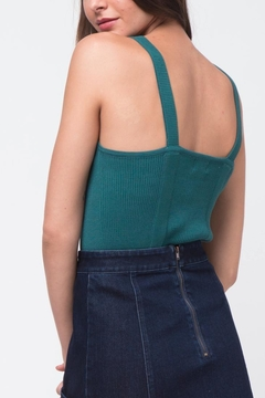 Movint Teal Knit Tank - Alternate List Image