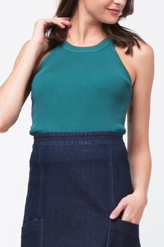 Movint Teal Knit Tank - Product List Image