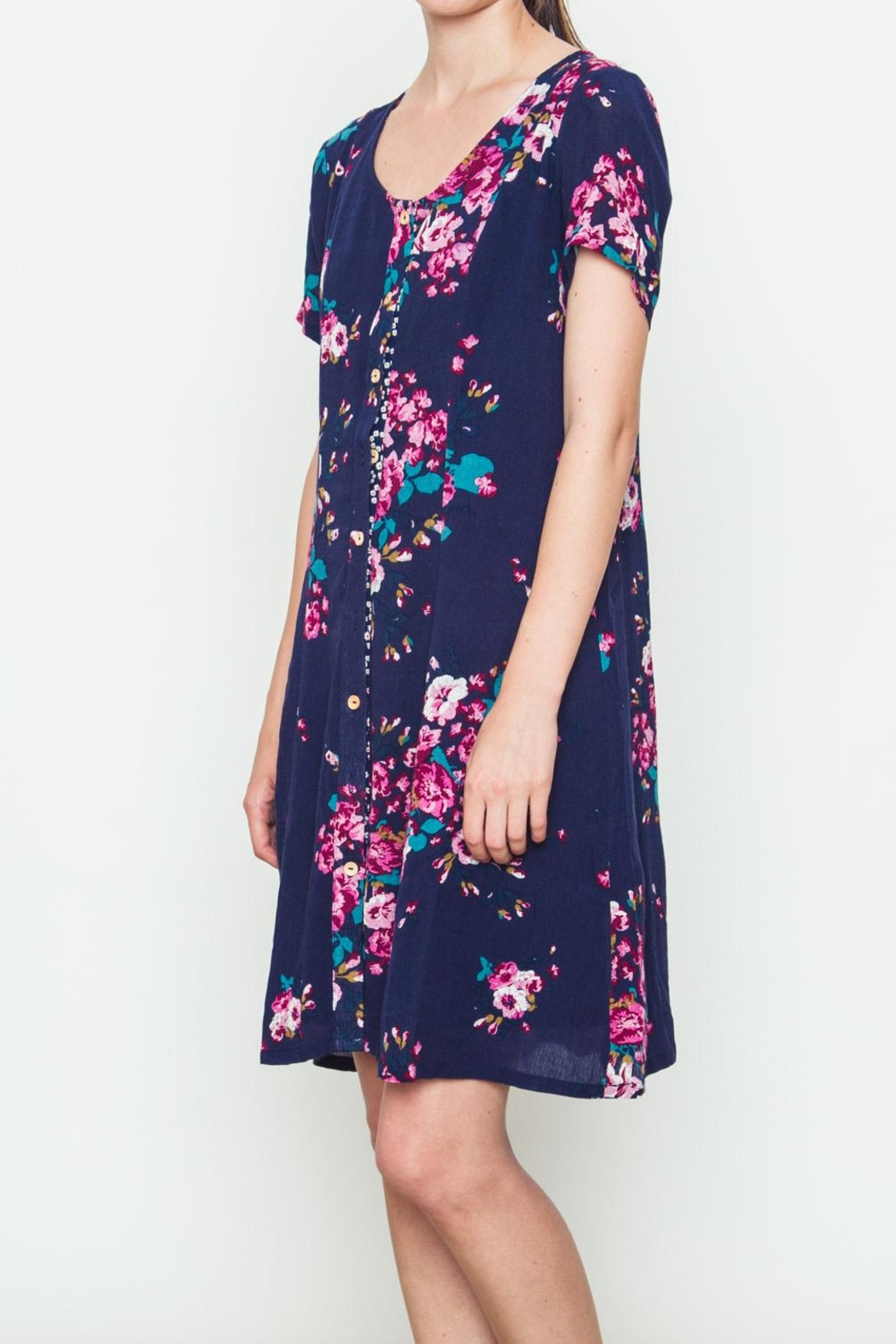 Movint Rose Bouquet Dress - Front Full Image