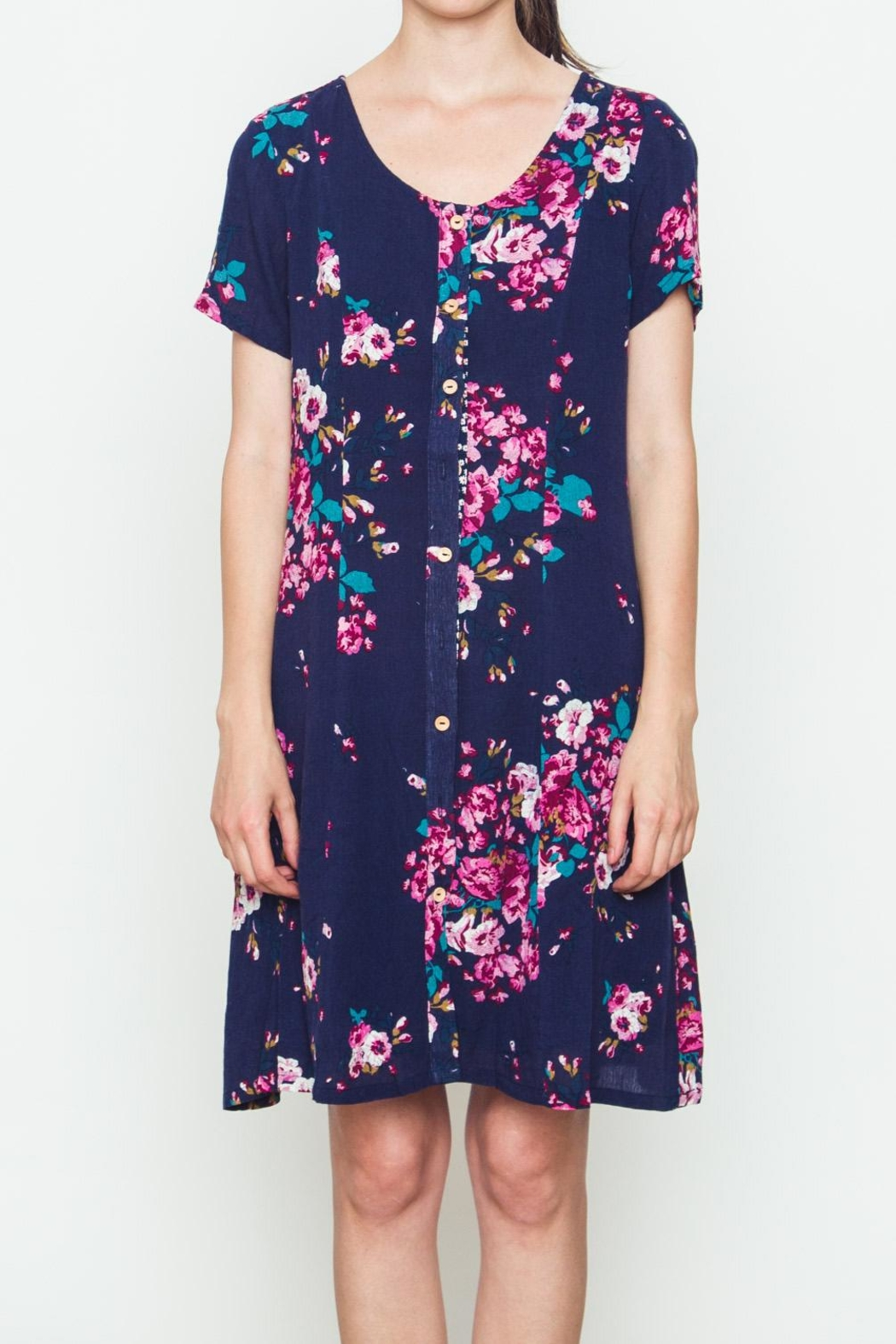 Movint Rose Bouquet Dress - Main Image