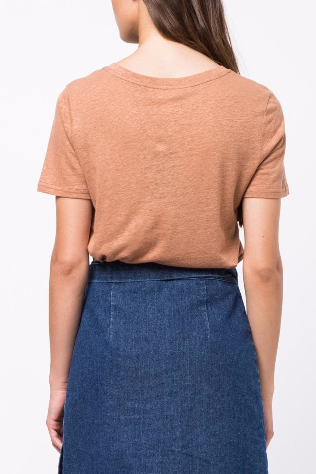 Movint Flocking Printed Tee - Front Full Image