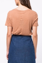 Movint Flocking Printed Tee - Front full body