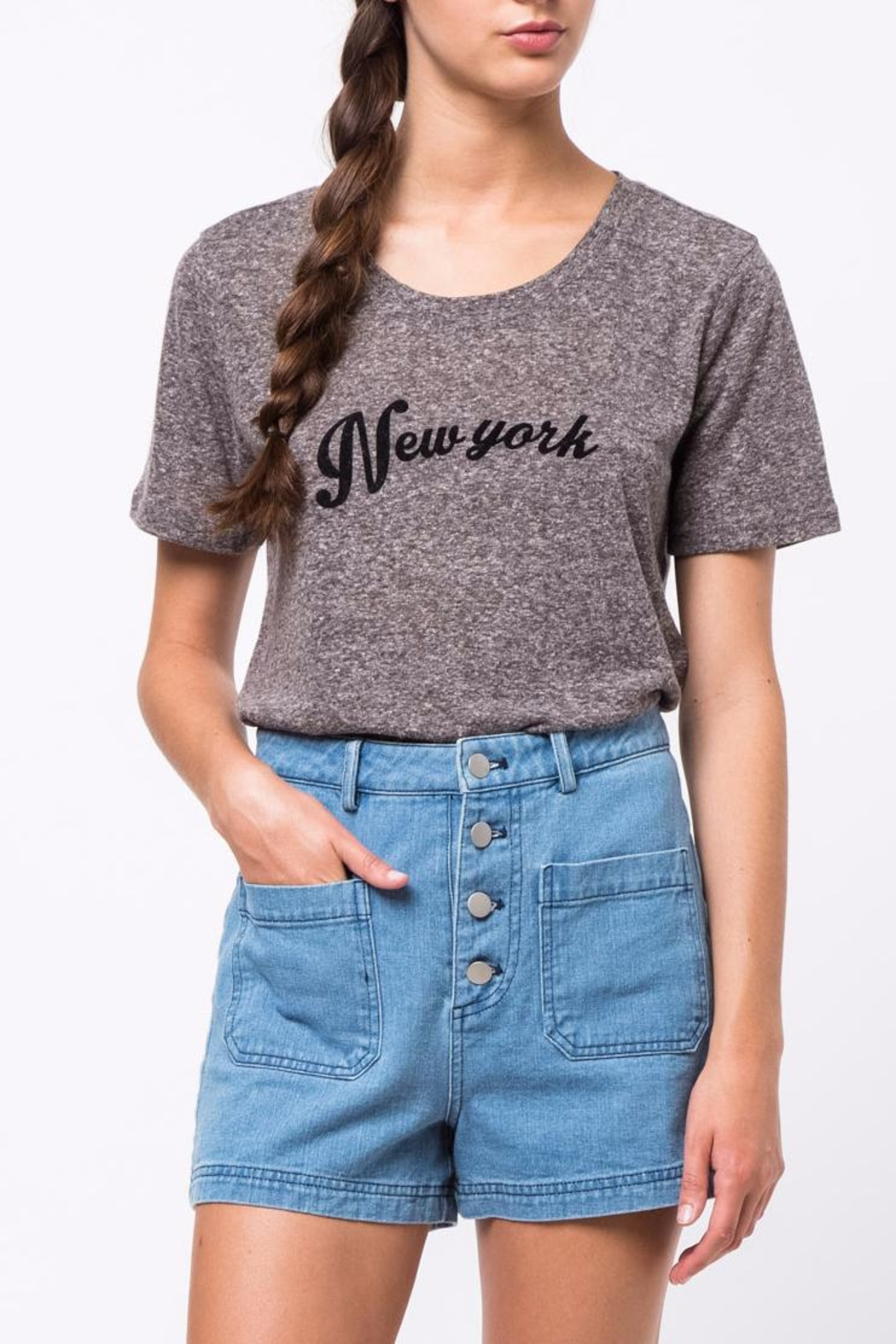 Movint New York Printed T-Shirt - Front Cropped Image