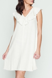 Movint Ruffle Linen Dress - Product Mini Image